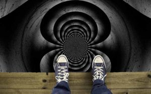 overwhelmed with business marketing strategy is like staring into a dark hole